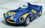 Jaguar D-Type 1956 Billy Krause  #15 Bakersfield #27 Santa Barbra MM180